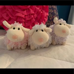 Ty Beanie Babies 2.0 Collection set of 3 lambs